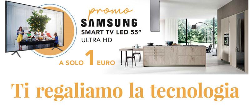 Elettrodomestico Samsung in omaggio